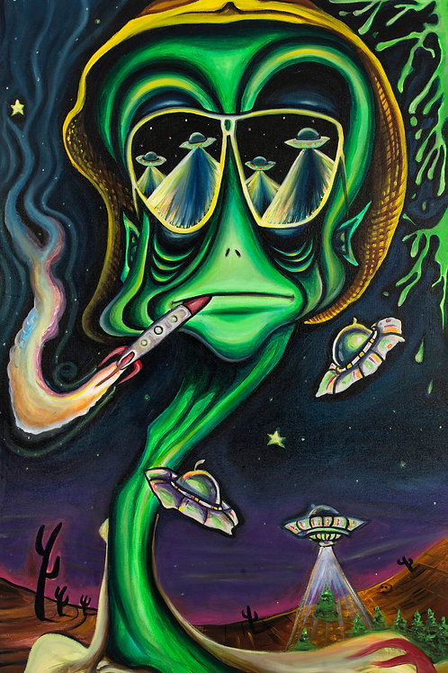 Fear and Loathing in Area 51