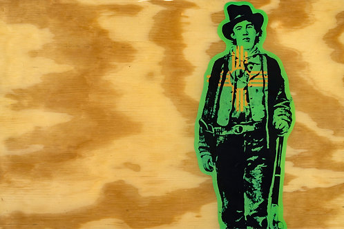"""Green Chile Billy"" - Bonny"