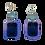 Thumbnail: Holographic Purple Skelz Earrings