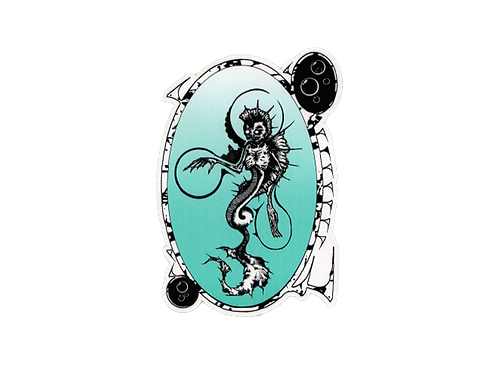 Fiji Mermaid Sticker
