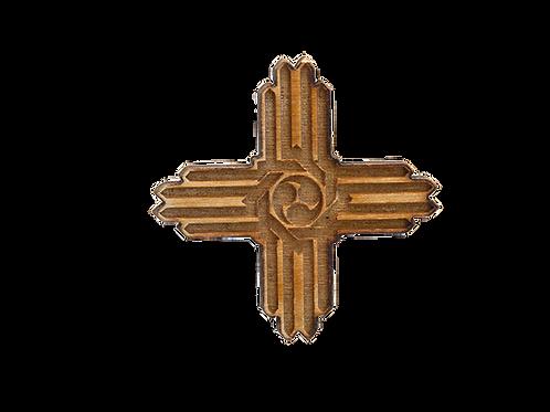 Zia Vortex Wood Pin