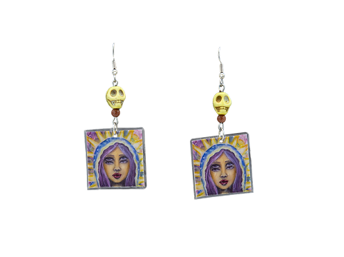 Saint Double Eyes earrings