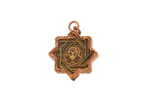 Copper Low Rez Pendant