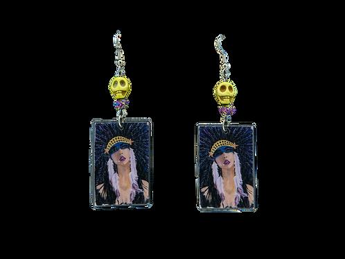 Smocahontas Earrings