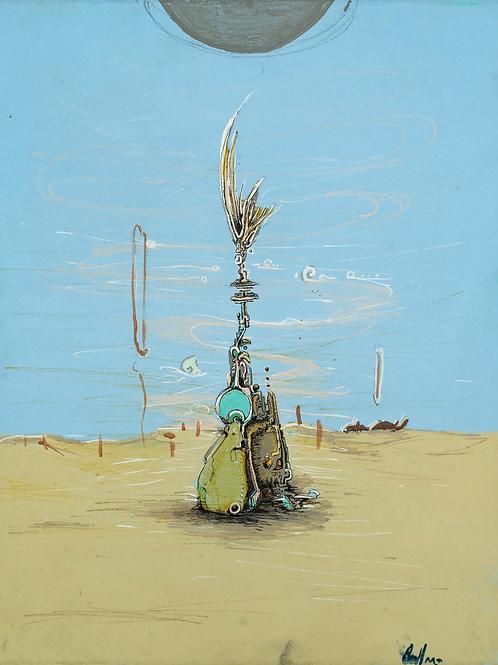 """Fish Bone outpost"" Andres Medina"