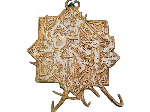 Cephalastar Wood Pin