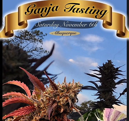 Ganja Tasting Vendor Booth