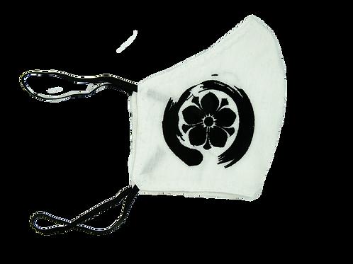 Plum Flower Fabric Face Mask