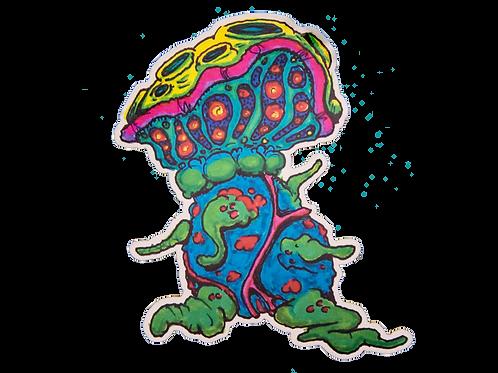 Shroom Doom Sticker