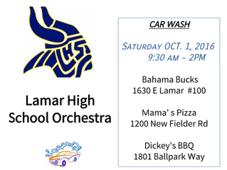 CAR WASH THIS SATURDAY!