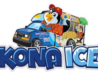 Kona Ice is so nice!  (Because they support the Lamar Orchestra)