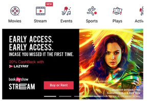 BookMyShow to enter Video Streaming service