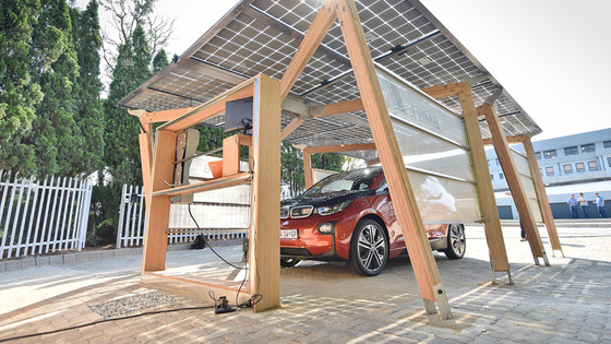 New Electric Vehicle Charging Ports in Cape Town