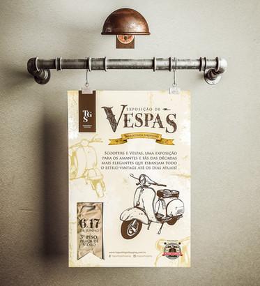 Exposição de Vespas TGS