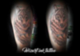 Tattoo final loup