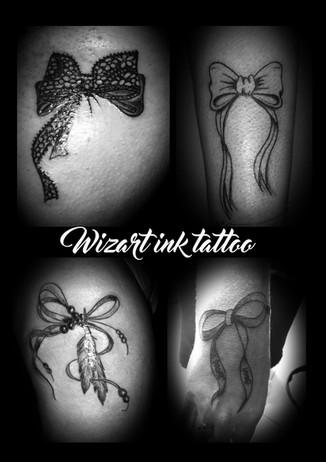 tatouage femme noeud