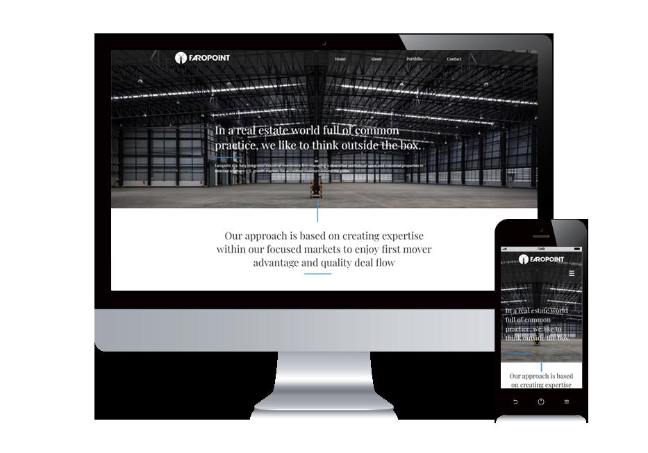 Faropoint - אתר וויקס