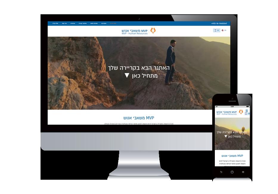 עיצוב אתרים , אתר תדמית
