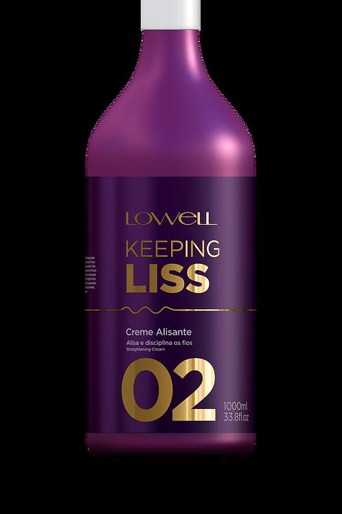 Keeping Liss Smoothing Cream 1000ML/33.8FL.OZ