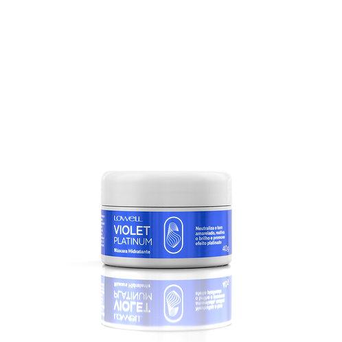 Violet Platinum Mask 40G/1.41FL.OZ