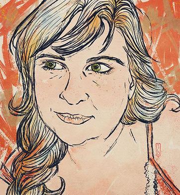 Desenho da autora Bruna Guerreiro