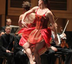 On location, Portland Ballet