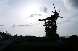 Homemade wind turbine