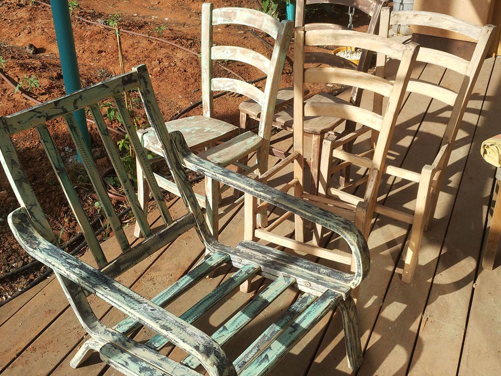 מיחזור כיסאות ישנים