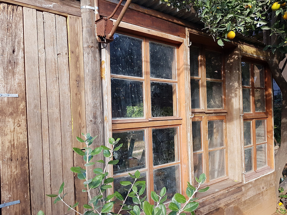 reuse of old window frames