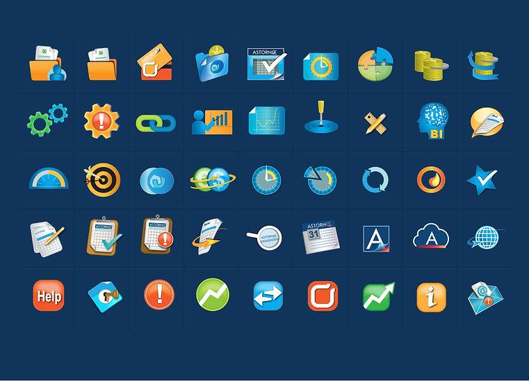 עיצוב איקונים כחלק ממשק חווית המשתמש בתוכנה