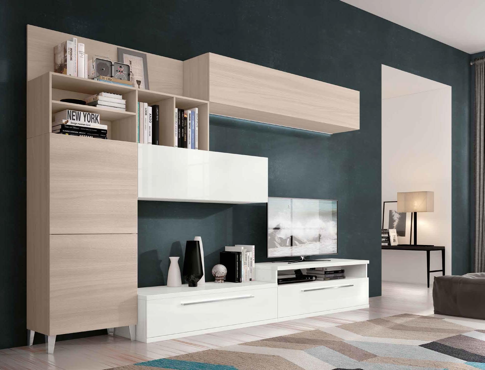 Soggiorni-moderni, pareti attrezzate   Reggiolo   IMPERIAL ...