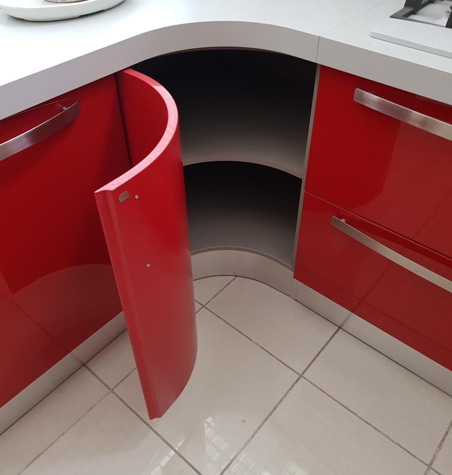 10/12) Cucina Prodomo laccata rossa