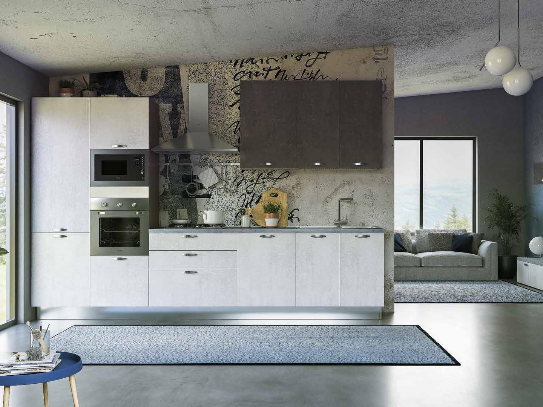 Cucina moderna cm. 360