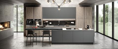 evo-cucina-eos-aleve-acero-glass-grigio-