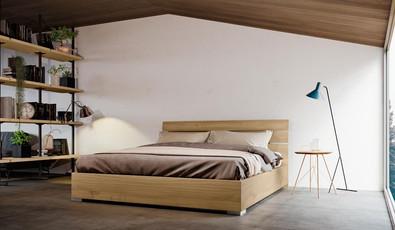 Letti in legno moderni foto  (9)