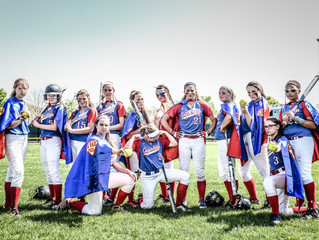 Go Far Super Heroes: CRHS Softball