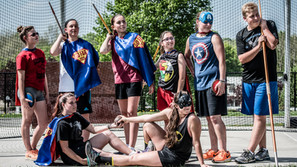 Go Far Community Heroes: CRHS Throwers