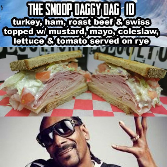 #SnoopDaggyDag at #SubCultureJC__ #Sandwich #SandwichPorn