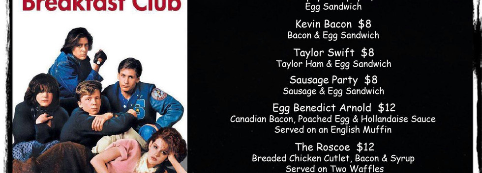 Breakfast & Basics Page