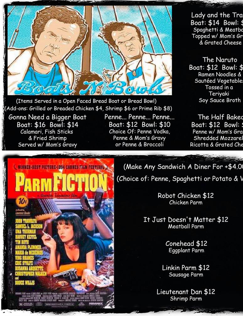 Bowls & Parms Page