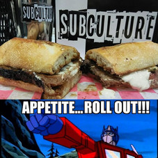 The Optimus Prime Rib, only at #SubcultureJc