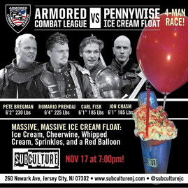 Armored Combat League Fights vs the Penn