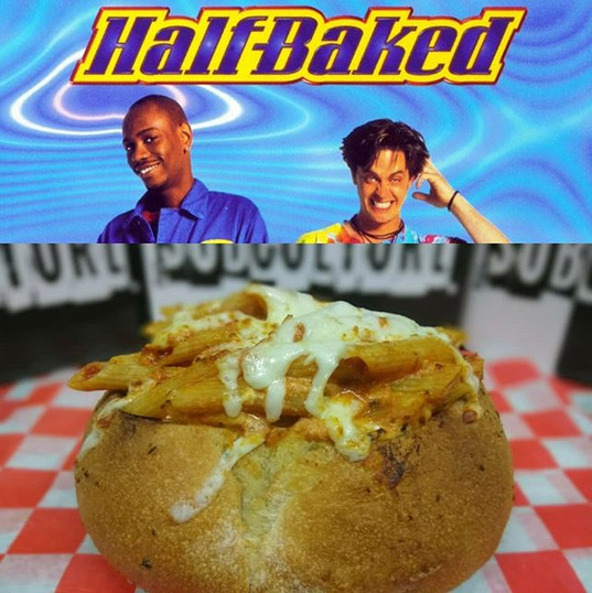 The #HalfBaked Bowl! Available now at #SubCultureJC