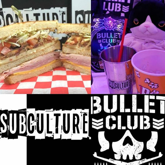 Go #ALLin and come on down to #SubCultureJC to try the #BulletClub. It's just too sweet!