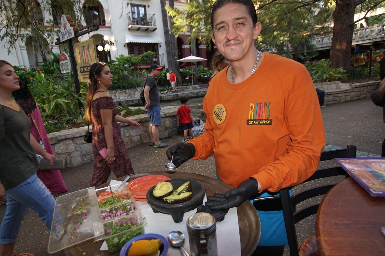 Guacamole frisch zubereitet