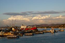 Aussfahrt aus dem Hafen