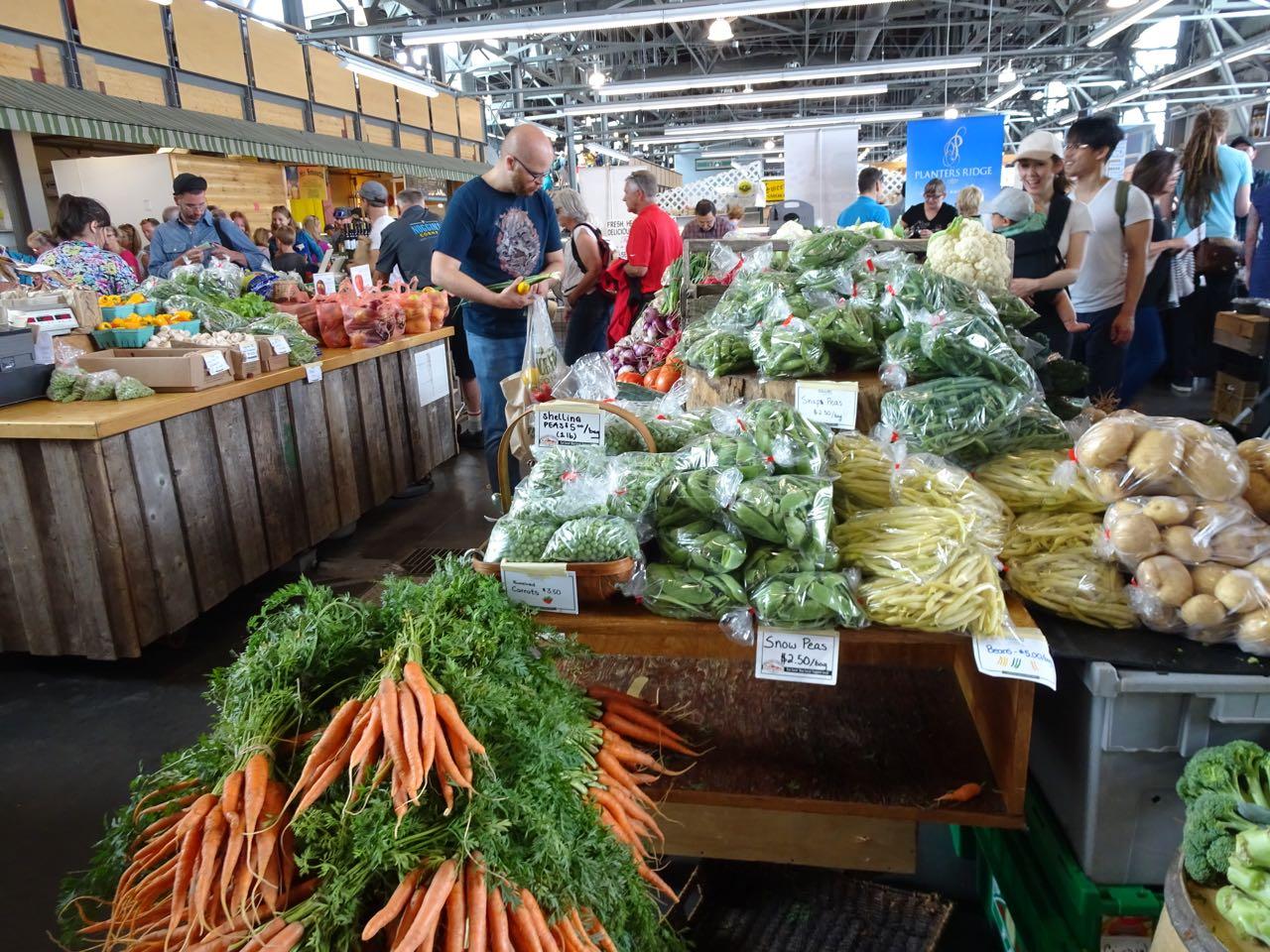 Farmers Market in den Hafenhallen
