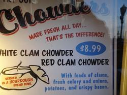 Chowder mit Crabs