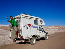 Tinu in der Salzwüste