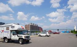 Super Platz an der Marina in Montreal